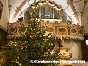 Silbermann Orgel Schloß Burgk