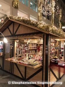 Weihnachtshütte Goethe Galerie Jena