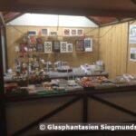 Hütte auf Weihnachtsmarkt Rudolstadt