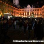 Rudolstadt Heidecksburg beleuchtet